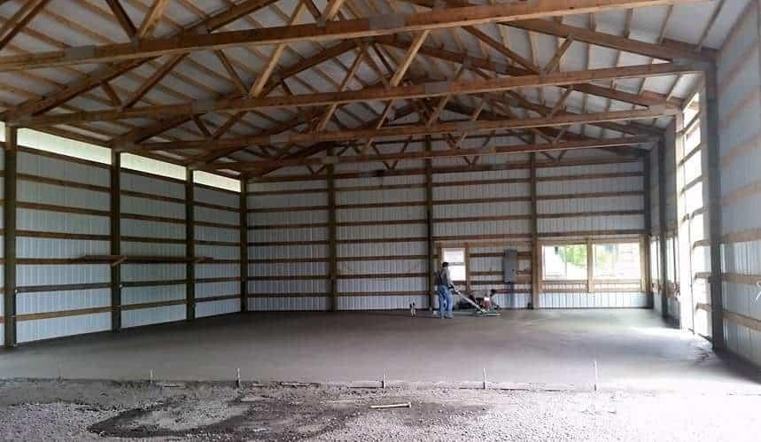 Barn 2 interior